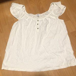 Old navy white blouse (L)